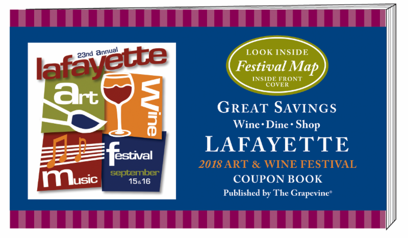 Advertise in The Grapevine Coupon Book