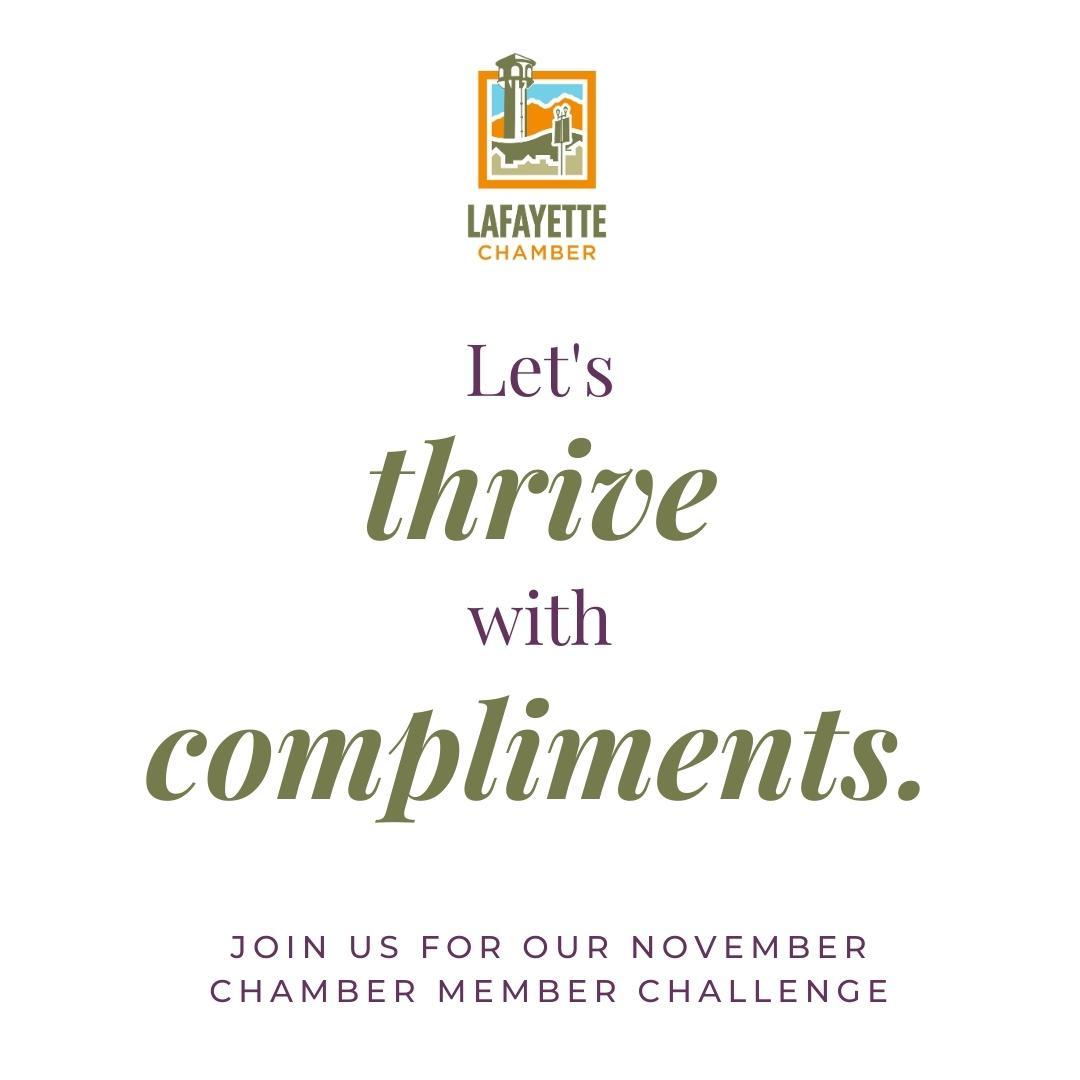 November Chamber Member Challenge