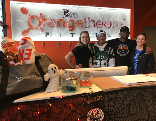 Halloween Spirit at Orangetheory Fitness
