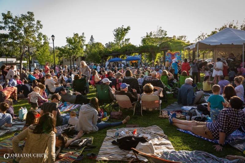 June 14, 2019 - Woodstock Lafayette Rock the Plaza Concert Series with ZEBOP! Photos by Gloria Touchet