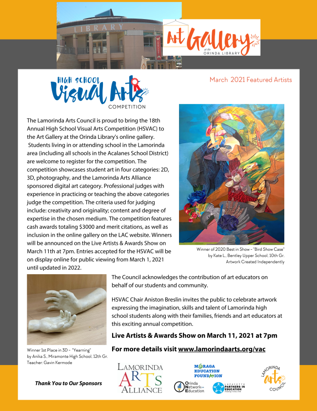 Art Gallery at the Orinda Library