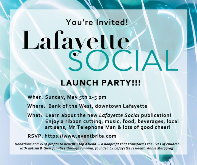 Lafayette Social Launch Party and Ribbon Cutting