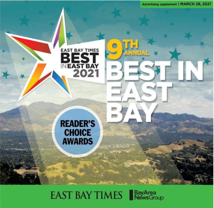 2021 Best in East Bay