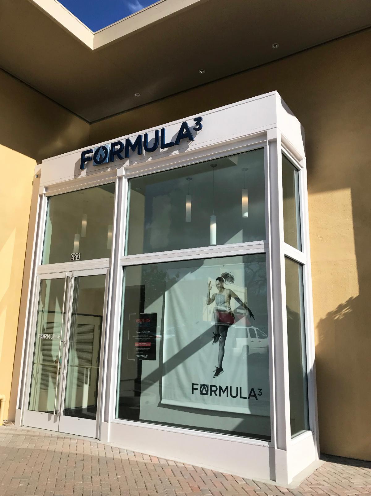 Formula 3 Fitness