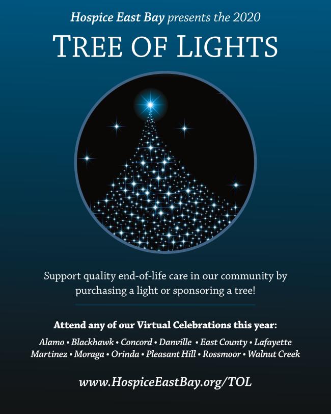 Hospice East Bay Tree of Lights
