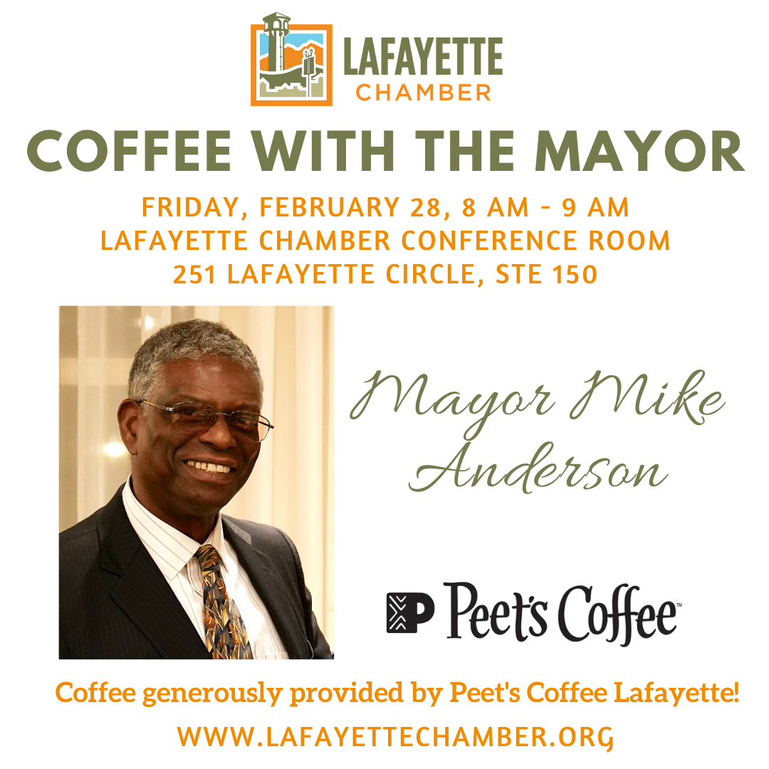 Coffee with Mayor Mike Anderson