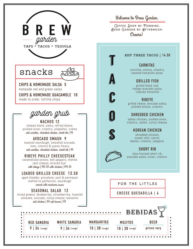 Brew Garden at Coffee Shop