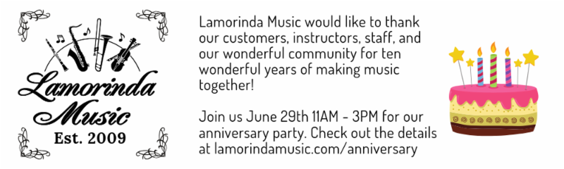 Lamorinda Music 10th Anniversary