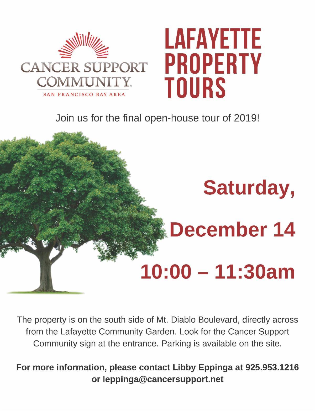 Lafayette Property Tour - Dec. 14