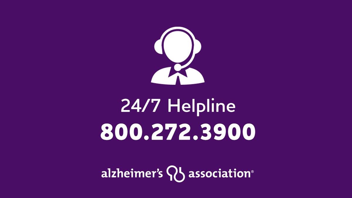 Alzheimer's Helpline