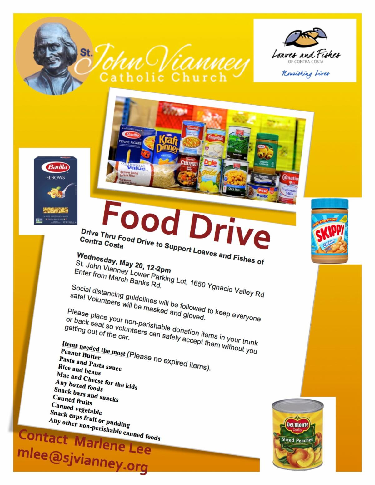 Loaves & Fishes Food Drive