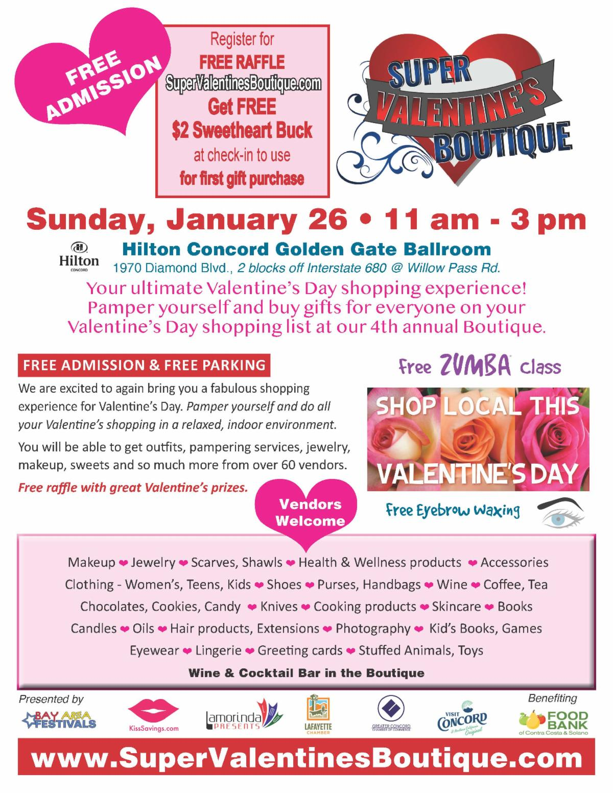 Super Valentine's Day Boutique