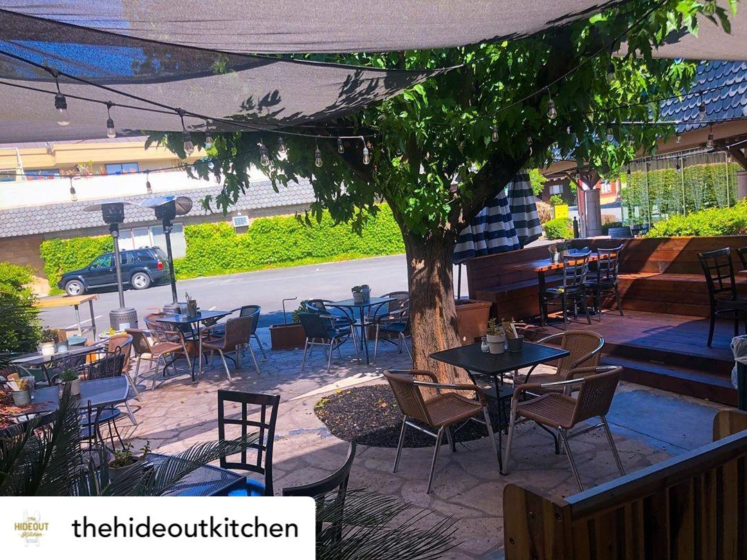 The Hideout Kitchen - Outdoor Dining