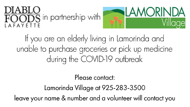 Lamorinda Village and Diablo Foods
