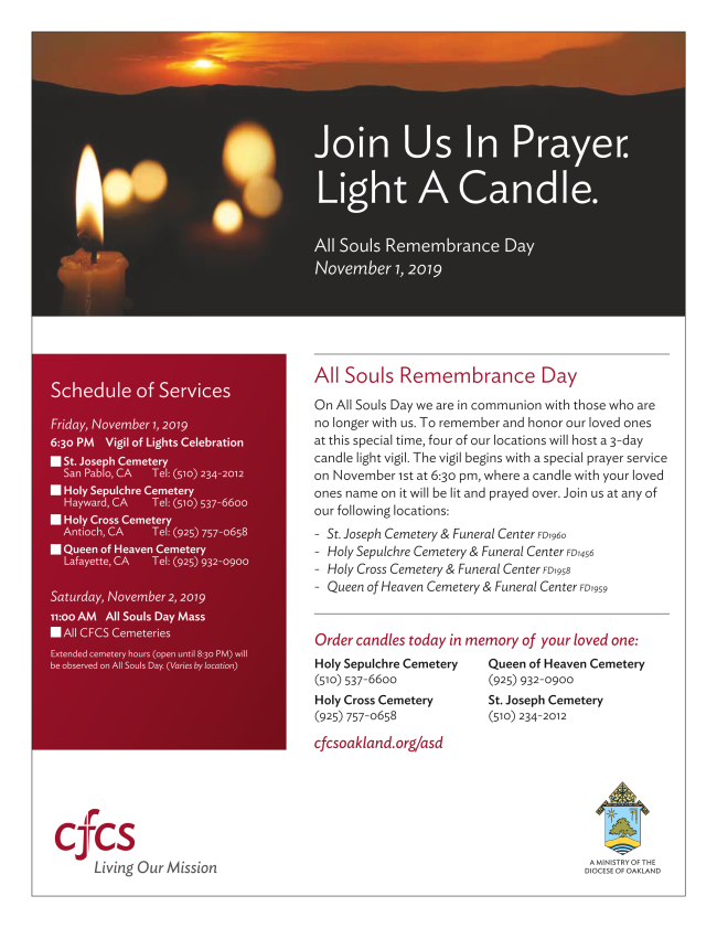 All Souls Remembrance Day