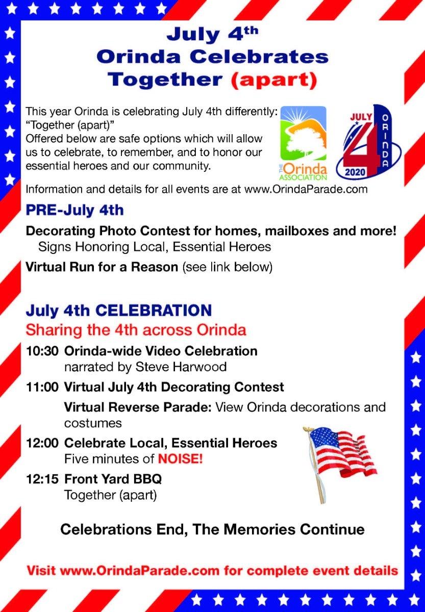 July 4th Orinda