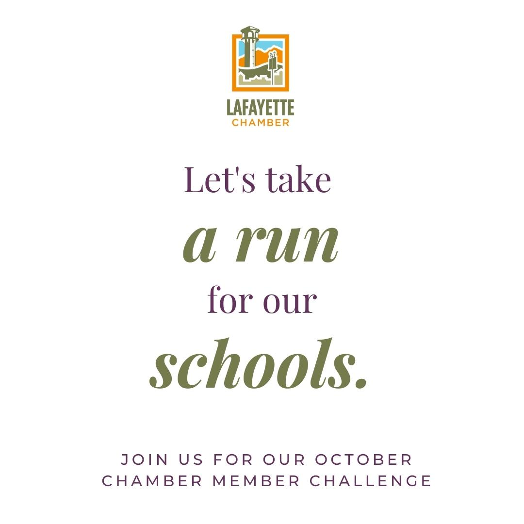 Take a Run for Our Schools!