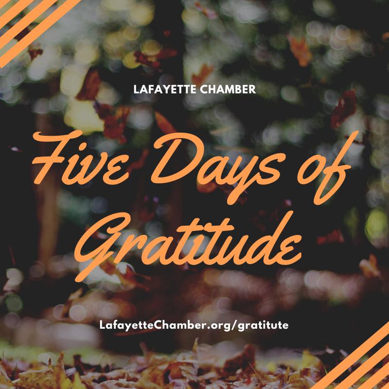 Our Attitude for Gratitude