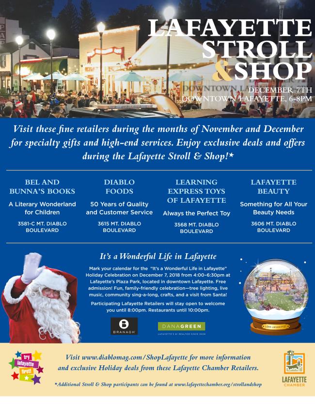 Lafayette Holiday Stroll & Shop