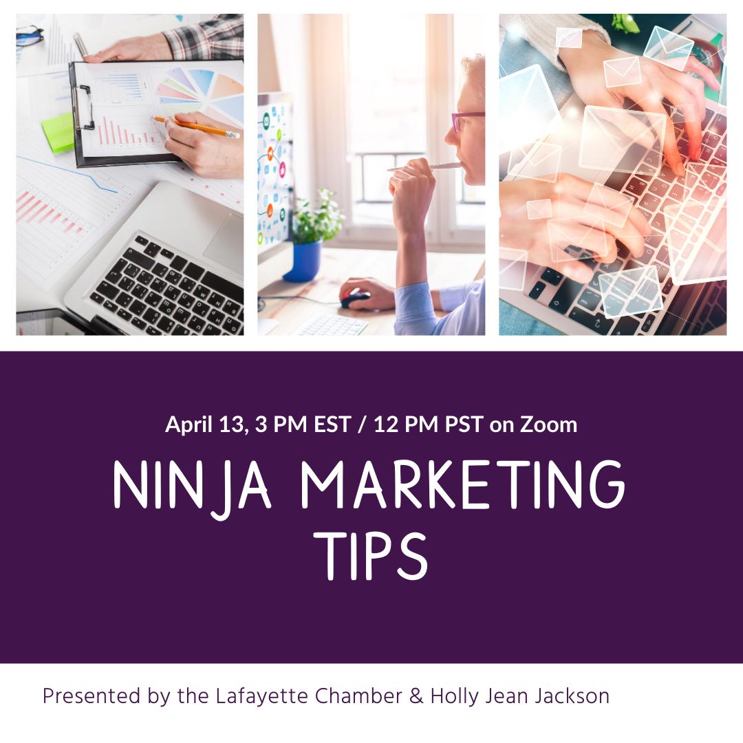 Ninja Marketing Tips