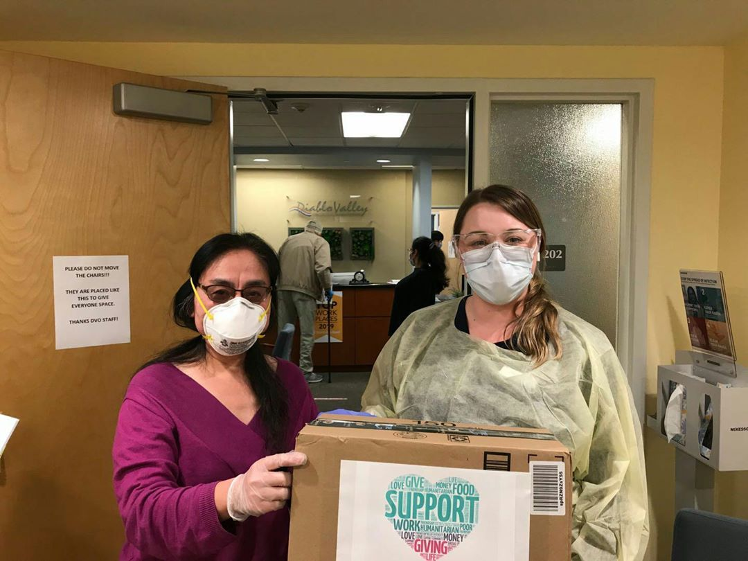 Donation to Diablo Valley Oncology