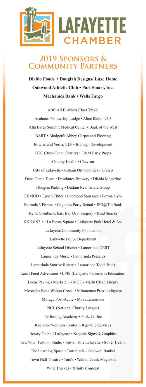 2019 Lafayette Chamber Partners
