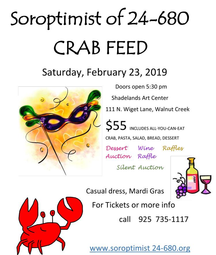 Soroptimist 24-680 Crab Feed