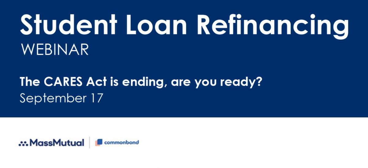 Student Loan Refinancing Webinar