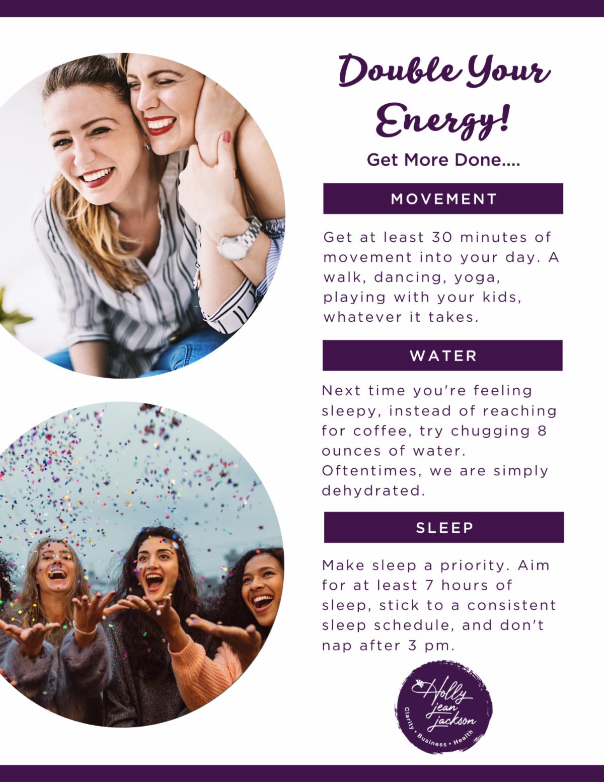 Double Your Energy