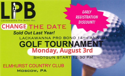 LPB Golf Tournament Reschedule Notice