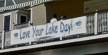 Love Your Lake Day 1