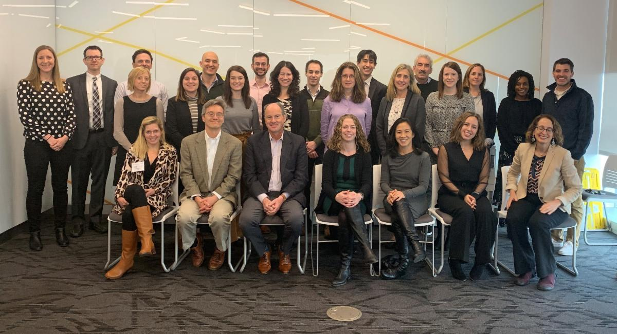 Group gathers for WW roundtable event on habit formation and behavior change