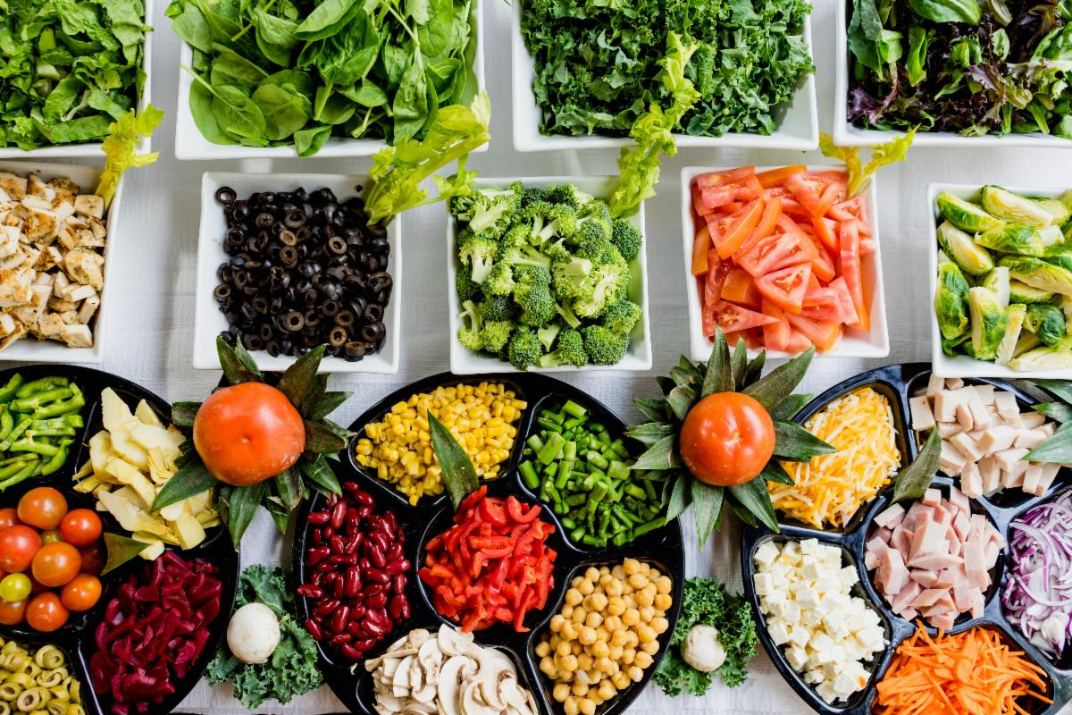 salad bar food picture