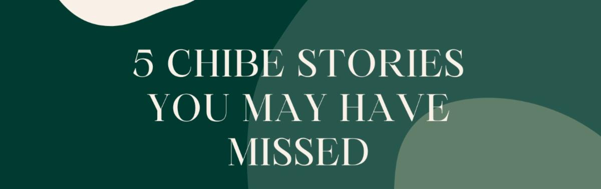 5 chibe stories you may have missed
