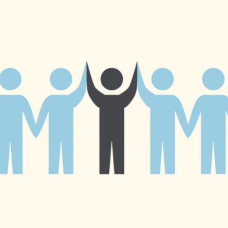 people cut-out graphic