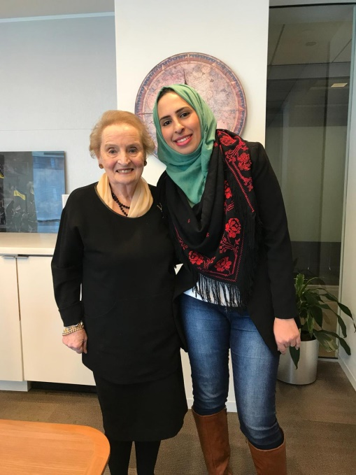 Hammouda w/ Madeleine Albright