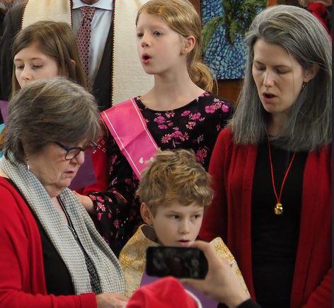 inter-generational choir