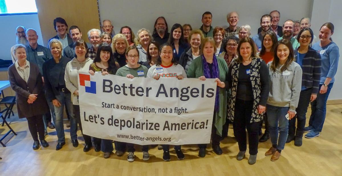 Better Angels workshop group photo