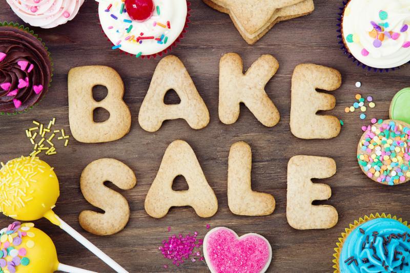 Bake sale cookies