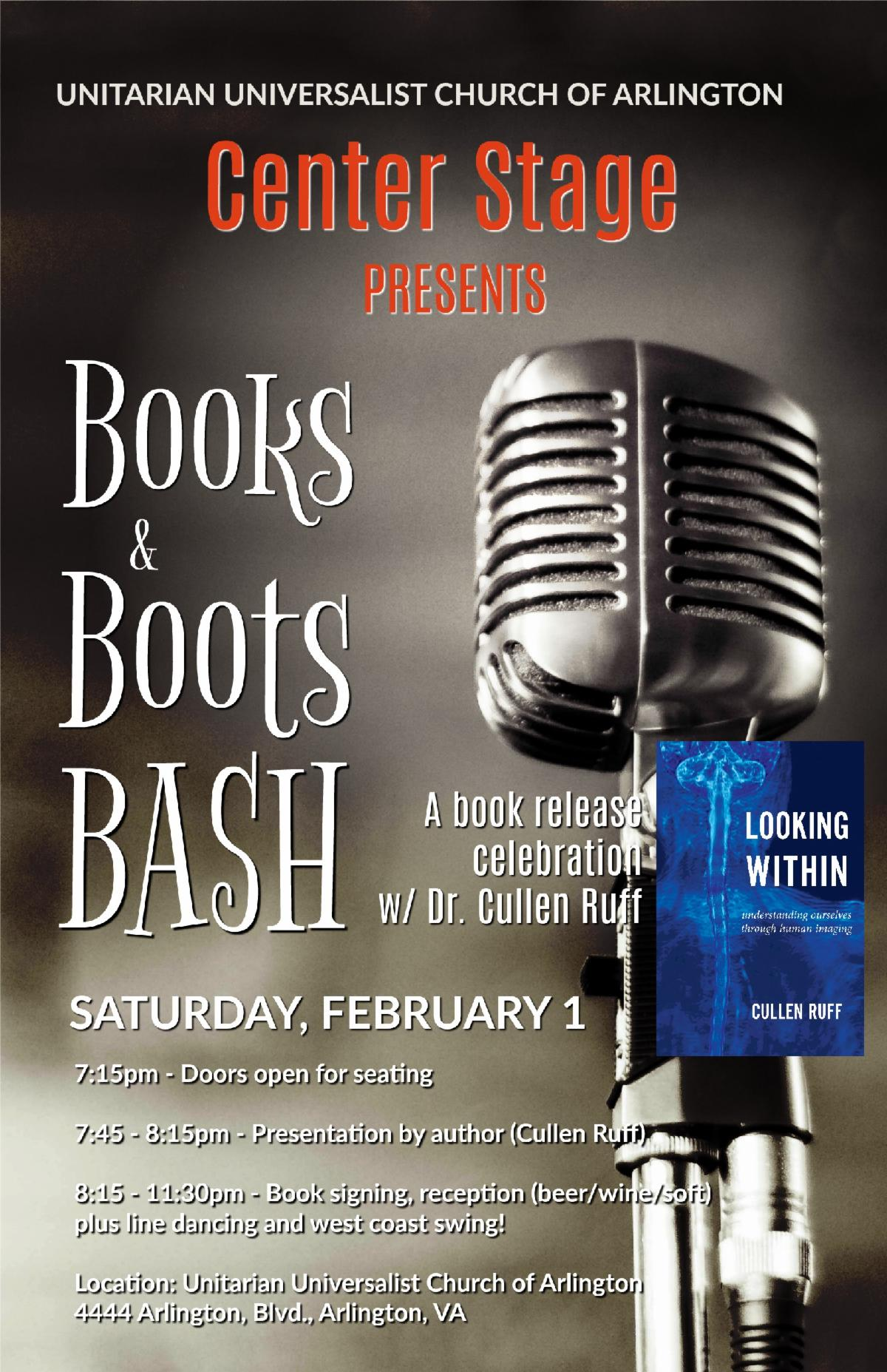 Books & Boots BASH - Feb 1, 7:15pm