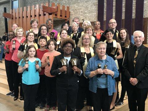 Bell Choir - intergenerational group