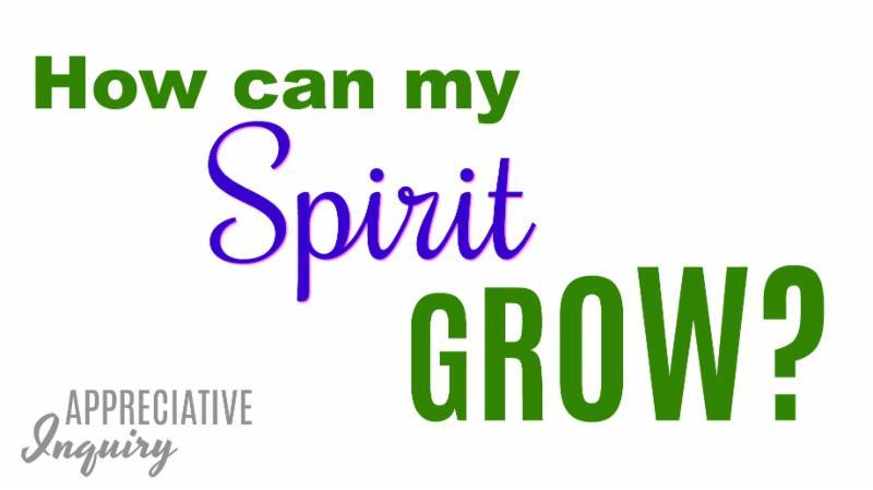 How can my Spirit grow? image