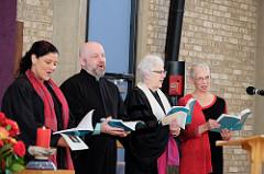 Rev. Rebekah, Walter, Rev Terasa, Diane photo