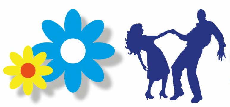 Flower child dance graphic
