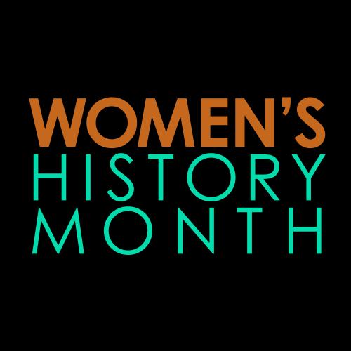 Women's History Month logo