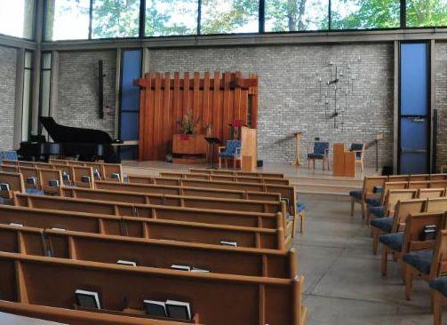 photo of empty sanctuary