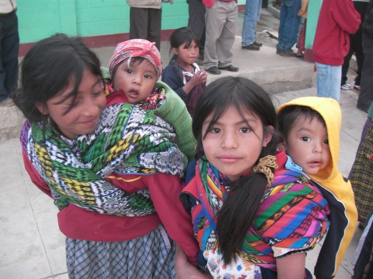 Guatemalan children photo