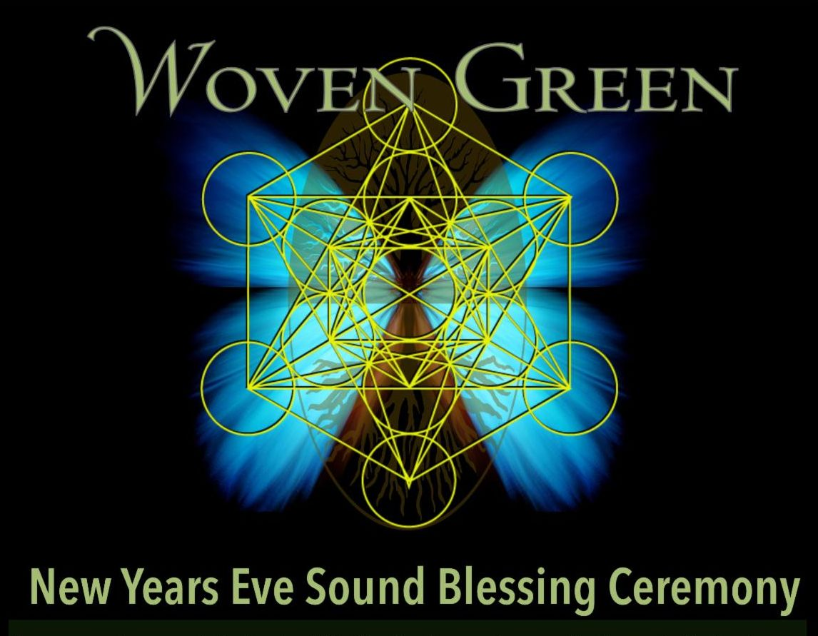 Woven Green New Year's Sound Blessing