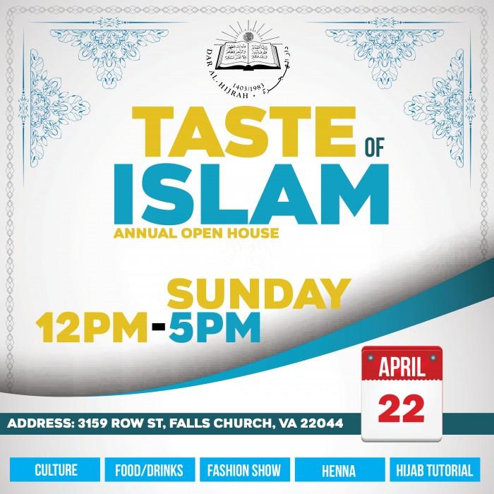 Taste of Islam image