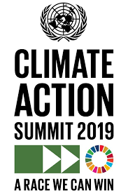 Climate Action Summit 2019 logo
